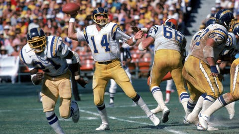 San Diego Chargers: QB Dan Fouts, third round (64 overall), 1973