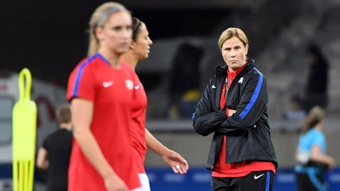 Reason not to worry: Jill Ellis can learn from this and adjust her tactics as needed