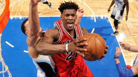 Jimmy Butler, F, Chicago Bulls (Marquette)