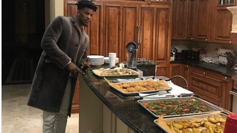 Jimmy Butler, Bulls and ex-Marquette forward