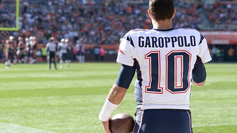 QB Jimmy Garoppolo, Patriots
