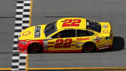 Logano wins it