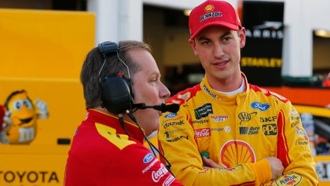 Joey Logano Todd Gordon