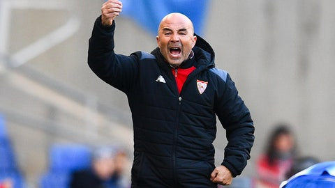 We were robbed of Jorge Sampaoli on the sideline