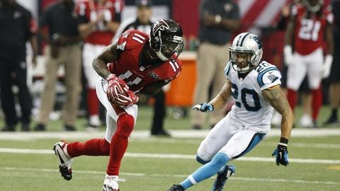 December 31: Carolina Panthers at Atlanta Falcons, 1 p.m. ET