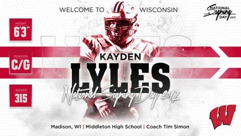 Kayden Lyles, C/G (Middleton HS)