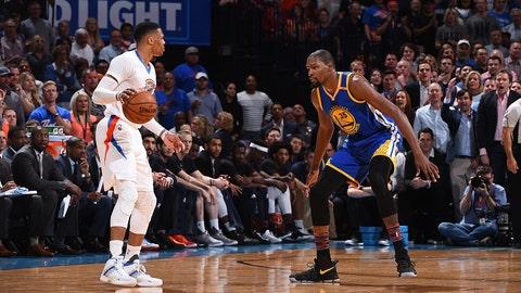 Nick: Durant saying, 'Nah' to Westbrook would make sense