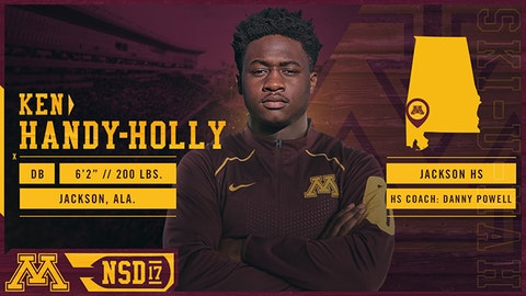 Ken Handy-Holly, DB (Jackson, AL)