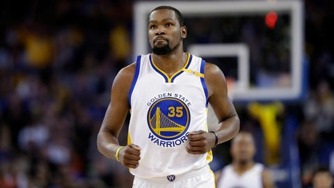 T-2: Kevin Durant, Golden State Warriors: $26,540,100
