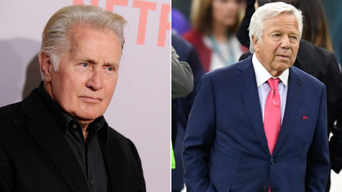 Martin Sheen as Robert Kraft