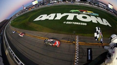 Laps led by Daytona 500 winner