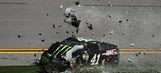 Kurt Busch crashes out early in Advance Auto Parts Clash