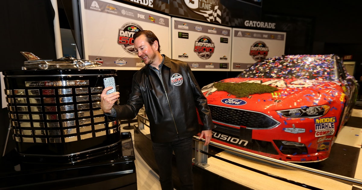 Victory Has Yet To Sink In For Kurt Busch Shr At Daytona