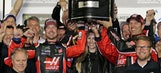 Kurt Busch: 'I'm going to turn our Harley J. Earl trophy into the Stanley Cup'