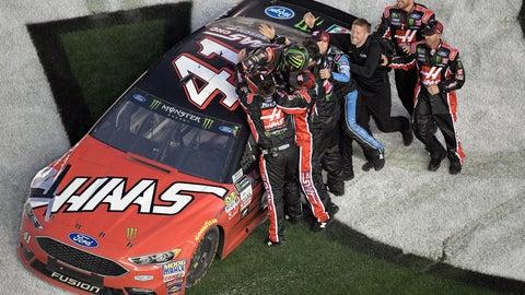 Busch wins first plate race