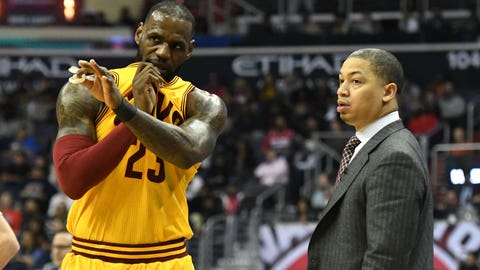 Tyronn Lue, Cleveland Cavaliers: Incomplete