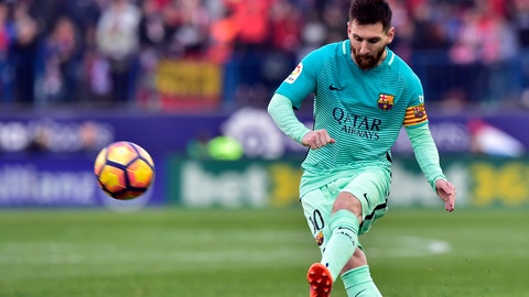 Barcelona — Lionel Messi