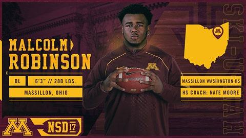 Malcolm Robinson, DL (Massillon, OH)