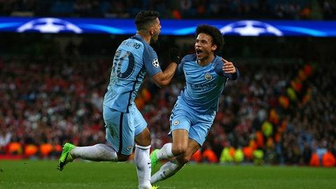 Manchester City, +1000