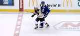 Did Brad Marchand deliver yet another slew foot to an opponent?