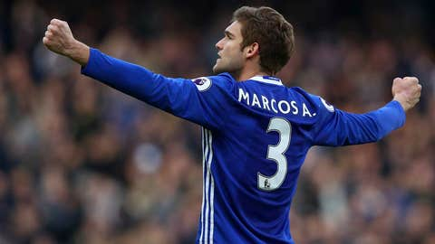 LWB: Marcos Alonso (Chelsea)