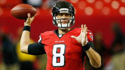 Matt Schaub, Falcons