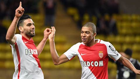 Kylian Mbappe cemented his place as one of Europe's most exciting prospects