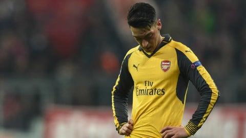 Will Mesut Ozil show up?