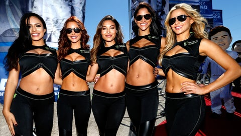 The Monster Energy girls