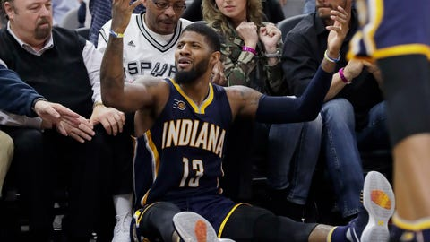 Indiana Pacers at San Antonio Spurs