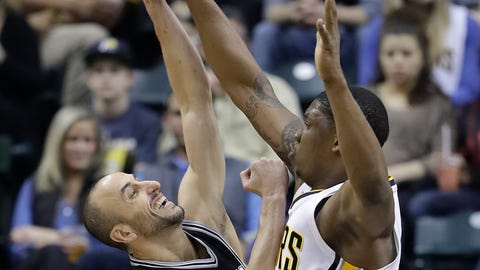 San Antonio Spurs at Indiana Pacers