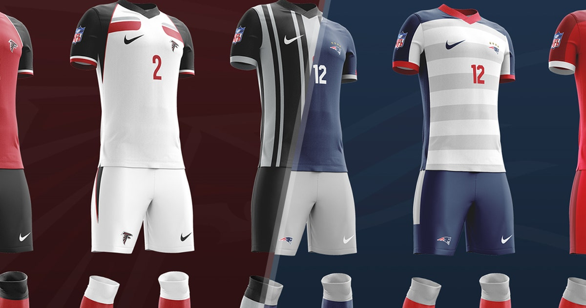 a906e1c32fa What would every NFL team look like with a soccer kit