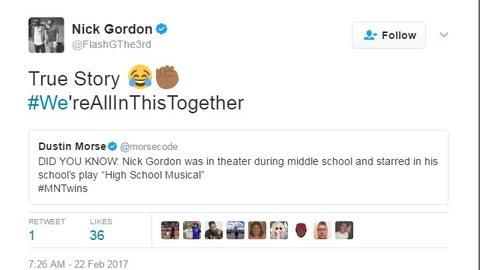 Nick Gordon, Twins prospect