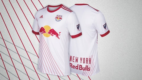 New York Red Bulls primary kit