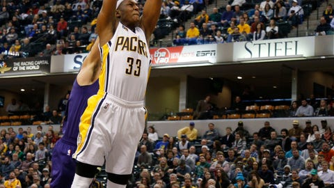 Charlotte Hornets at Indiana Pacers