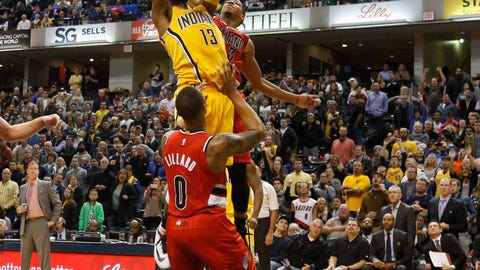 Portland Trail Blazers at Indiana Pacers