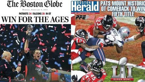 Boston Globe & Boston Herald