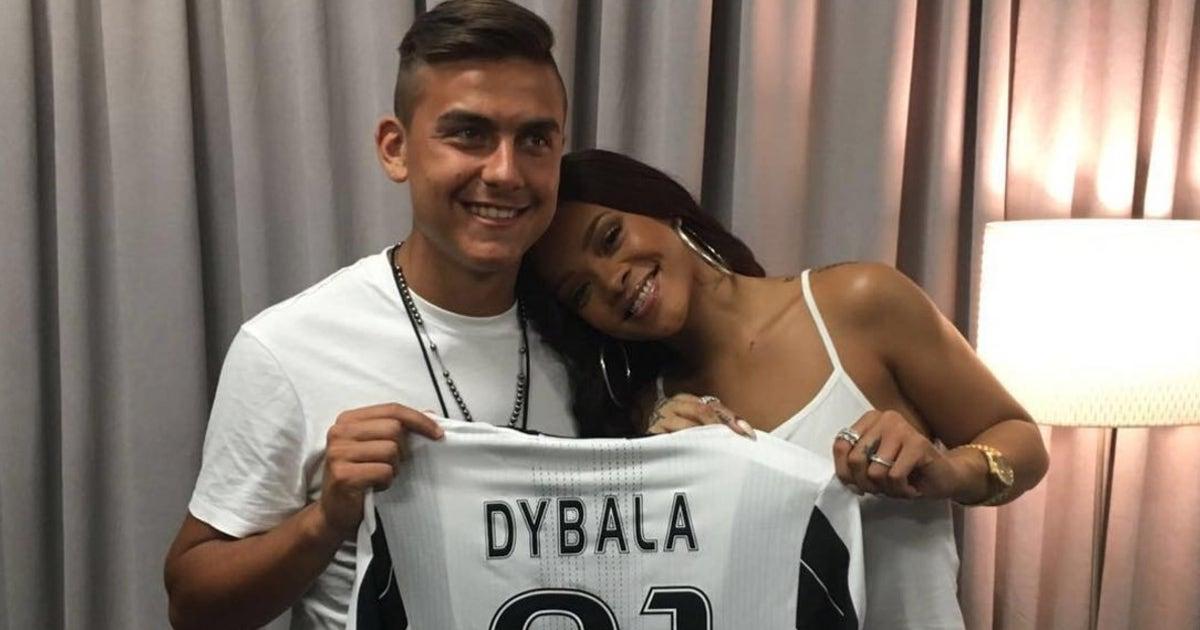 Paulo Dybala Shows Rihanna Some Birthday Love Almost