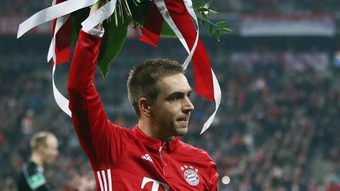 Philipp Lahm - 113 appearances*