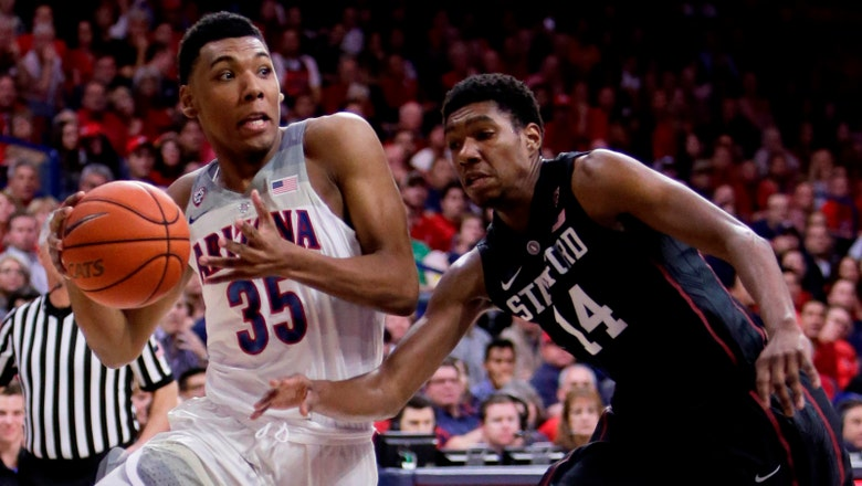 Trier's 22 help No. 9 Wildcats escape with win over Stanford