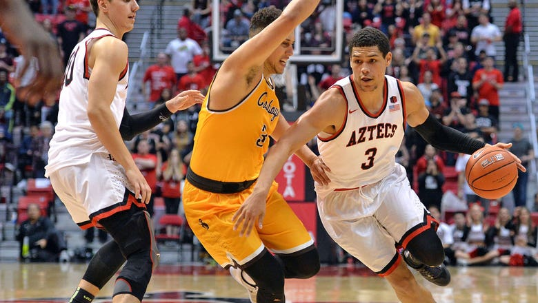 San Diego State ends 2-game skid with win over Wyoming