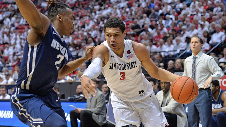 San Diego State knocks Nevada out of first place