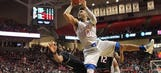 Kansas squeezes by Texas Tech for 80-79 victory