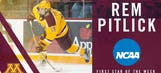 Gophers' Pitlick named NCAA First Star of the Week