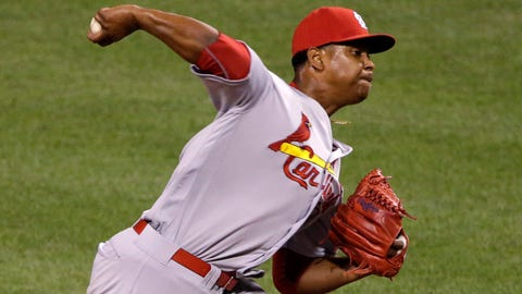 Cardinals' Alex Reyes back on DL after 1st game in 20 months