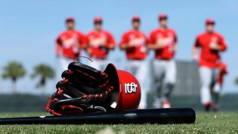 Cardinals equipment