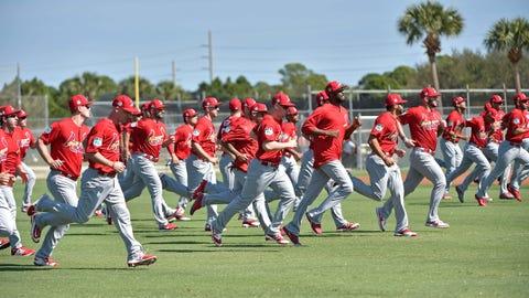 Cardinals run