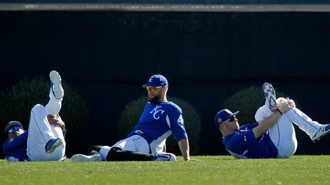 Royals  stretch