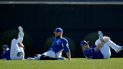 Royals  stretch