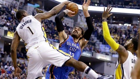 Oklahoma City Thunder at Indiana Pacers